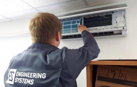 Обслуживание систем <br> вентиляции и <br>кондиционирования